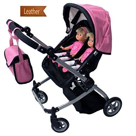 4 seat doll stroller babyboo deluxe doll pram stroller with free carriage