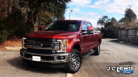 Jc Lewis Ford by 2017 Ford F 250 Duty Powerstroke Walk Around At J C