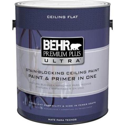 best flat ceiling paint behr premium plus ultra 1 gal ultra white ceiling