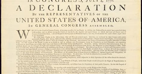 printable version of declaration of independence artefacts antique images declaration of independence