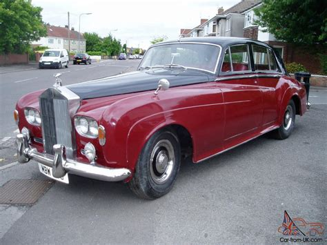 roll royce red 1963 rolls royce black red