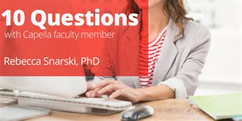 Capella Mba Healthcare Management by 10 Questions With Capella Business Faculty Member