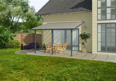 palram feria 10x20 patio cover gray hg9420 free shipping