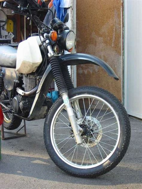 Motorrad Gabel Federt Nach by Motorangs Xt 500 Gabelumbau