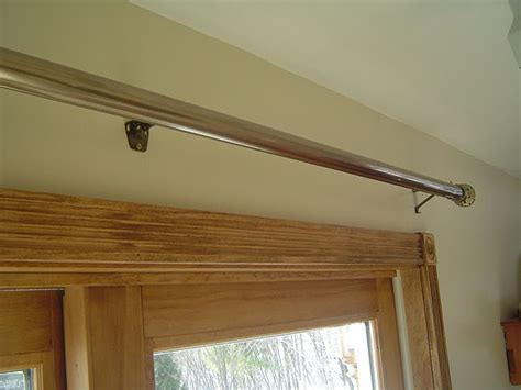 installing curtain rod patio door installing sliding patio door