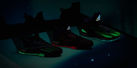 glow in the paint nbs adidas revelas the d 6 borealis collection