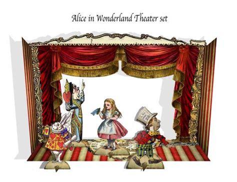 Im Wunderland Basteln by Im Wunderland Printble Papier Theater Mit Figuren