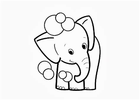 32 Kids Coloring Pages Baby Print Color Craft Baby Elephant Coloring Pages