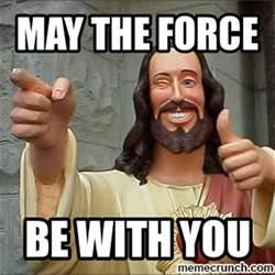 Jesus Memes - star wars jesus meme