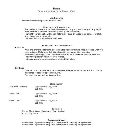 Why Hybrid Resumes Are The Best Resume Format Of 2016 Hybrid Resume Template
