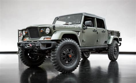 Jeep Truck Concept If They Build It I Will Jeep B345t 715 Crew