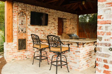 outdoor kitchen frisco frisco tx new orleans style outdoor kitchen cabana project