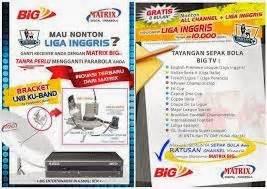 Harga Matrix Bola matrix big tv receiver spesialis bola arin parabola