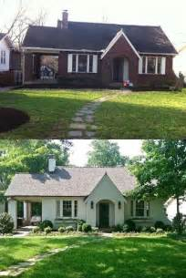 painted brick homes 25 best ideas about painted brick homes on