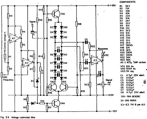 diode ladder filter schematic the free information society diode ladder filter electronic circuit schematic