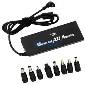 universal ac adapter power supply charger cord for laptop notebook dell toshiba ebay