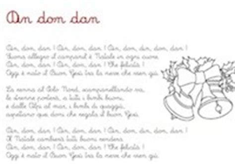 jingle bells testo italiano din don dan canzone din don dan