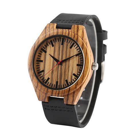montre bois homme la t 234 tue bracelet cuir wood mood