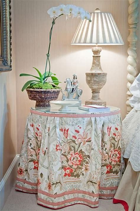 placement  skirted tablecloth  favorite