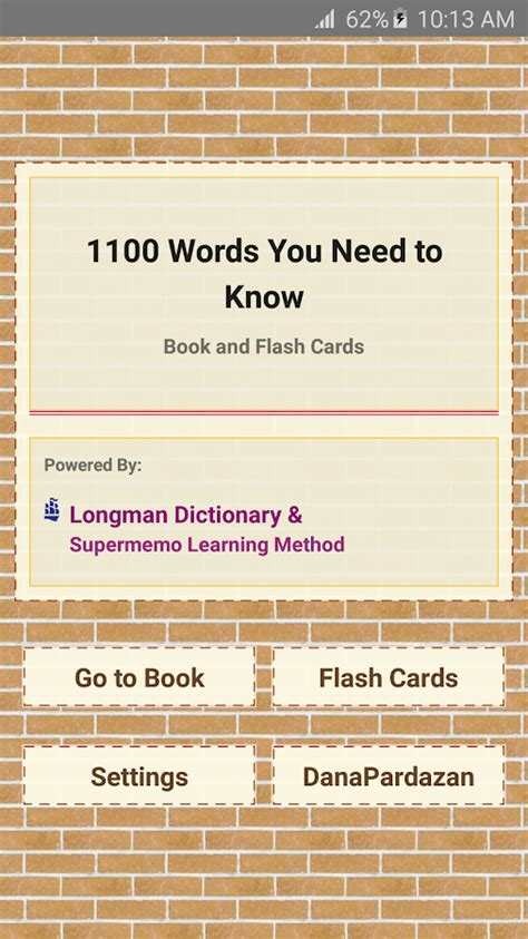 Barron S 1100 Words You Need To barron s 1100 words for gre android apps on play