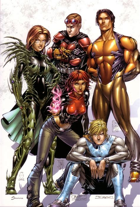 best comic characters top cow characters comic vine