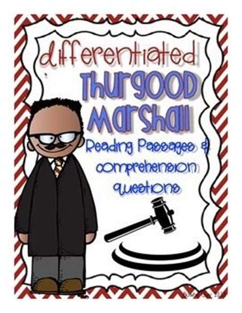 thurgood marshall biography in spanish 22 best 3rd grade social studies historical figures images