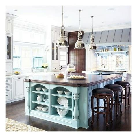 colorful kitchen islands colorful kitchen islands beach house redesign pinterest
