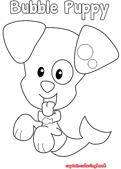 bubble puppy coloring page bubble guppies coloring pages download coloring page