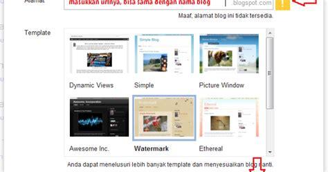 tutorial ngeblog wordpress cara membuat blog di blogspot tutorial blogger dan wordpress