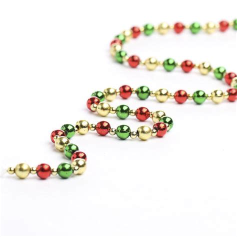 christmas mini beaded garland garlands floral supplies