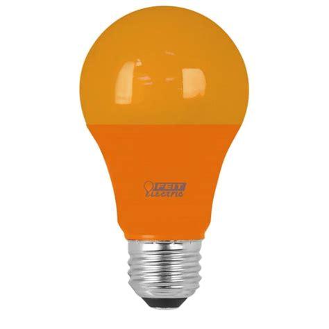 Feit Electric 40w Equivalent A19 Orange Household Led Led Household Light Bulbs