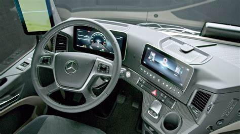 Mercedes Truck 2019 by 2019 Mercedes Actros Interior