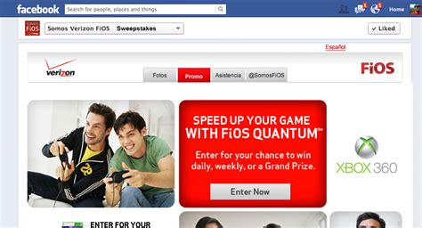 Verizon Sweepstakes - verizon fios facebook xbox sweepstakes work the service center