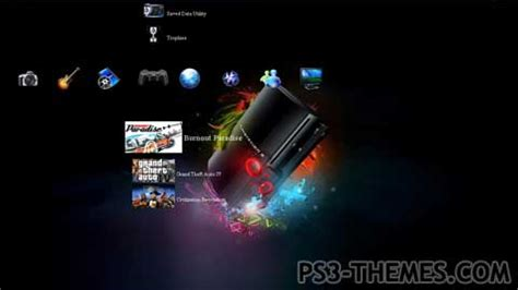 new themes ps3 ps3 themes 187 ps3 new look