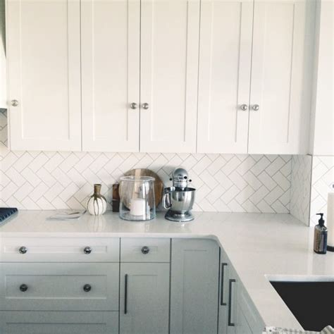 herringbone tile backsplash my someday house