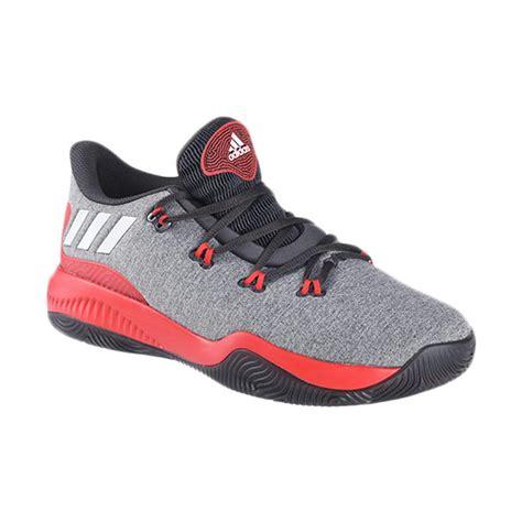 Sepatu Adidas Basketball jual adidas basketball nba grey sepatu