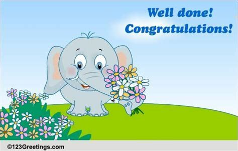 Jumbo Congrats! Free For Everyone eCards, Greeting Cards