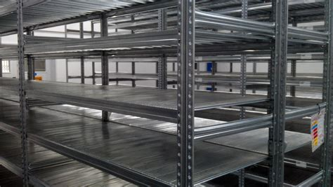 warehouse shelving industrial storage shelves used and