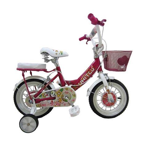 Kaos Anak Sepeda Pink jual united tom jerry sepeda anak pink 12 inch harga kualitas terjamin blibli