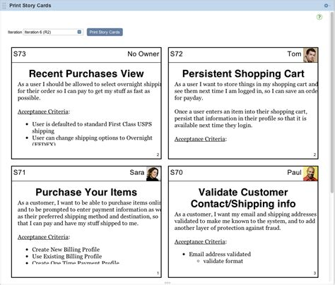 agile story card template github rallyapps printstorycards a rally app that renders printable story cards for a