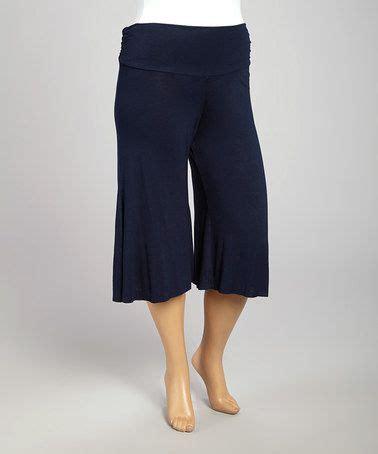 women zig zag pattern below knee corduroy pleated skirt poliana plus navy gaucho pants plus zulily 32 and gaucho