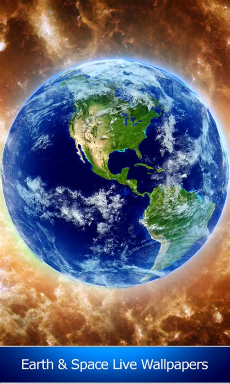 earth app for android free earth and space live wallpapers free android app android freeware