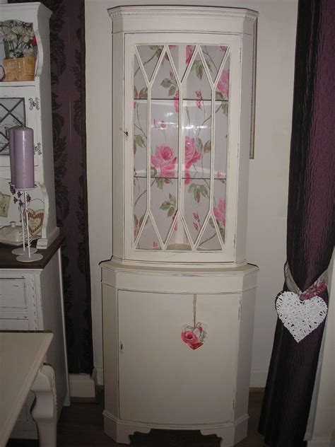 shabby chic display cabinet beautiful shabby chic corner unit dresser display