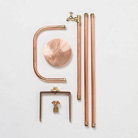 copper outdoor showers copper outdoor shower