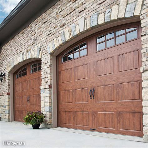 garage doors garage door repair the family handyman