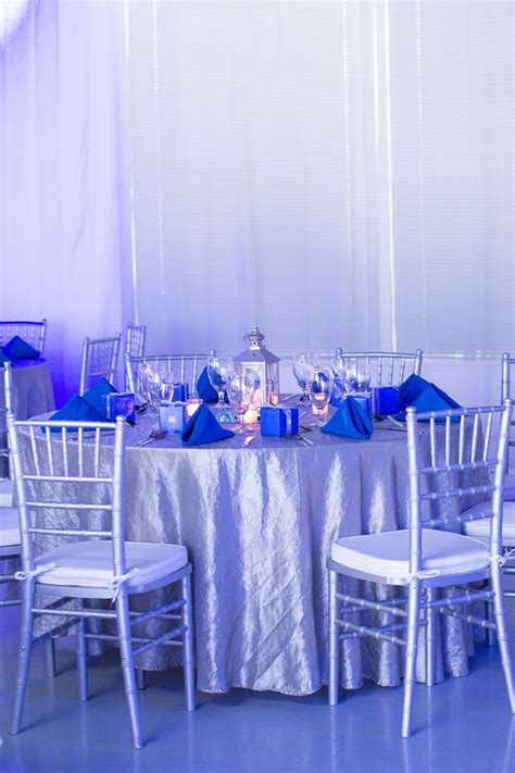 blue themed events blue silver themed birthday party heaven event center