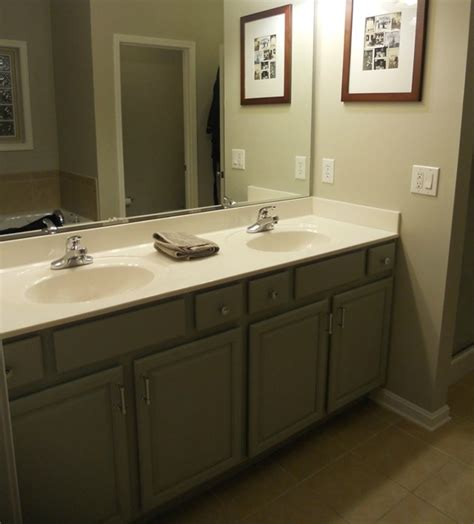 revere pewter in bathroom master bath cabinets fieldstone walls revere pewter