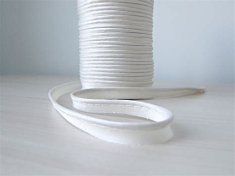piping upholstery white satin piping trim sewing piping pillow cord piping