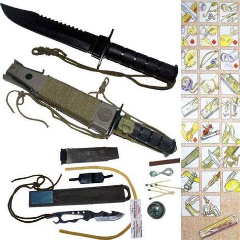 cing survival knives facas de cabo oco vs facas tang instituto defesa