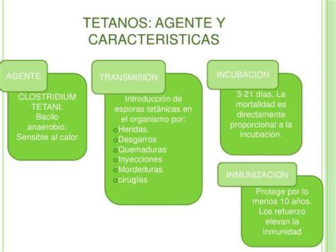 cadena epidemiologica tetanos epidemiologia del tetanos accidental